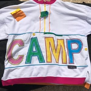 Vintage 80's Camp Beverly Hills Long Sleeve Shirt